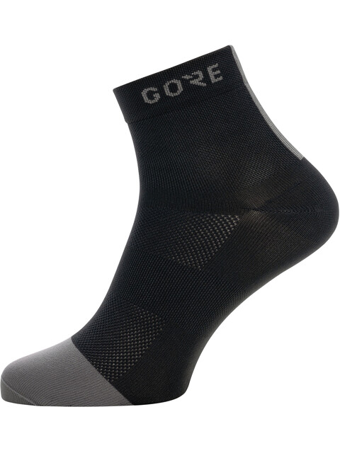 GORE WEAR M Light Mid Socks black/graphite grey